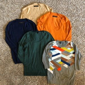 Bundle of 5 Limited Sweaters